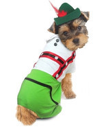 Oktoberfest Lederhosen Alpine Boy -  Dog Costume - ₨2,383.37 INR+