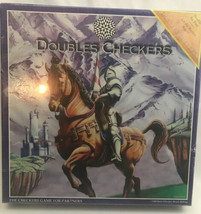 New Double Checkers / 4-Player Checkers Board Game / 1996 - $18.99