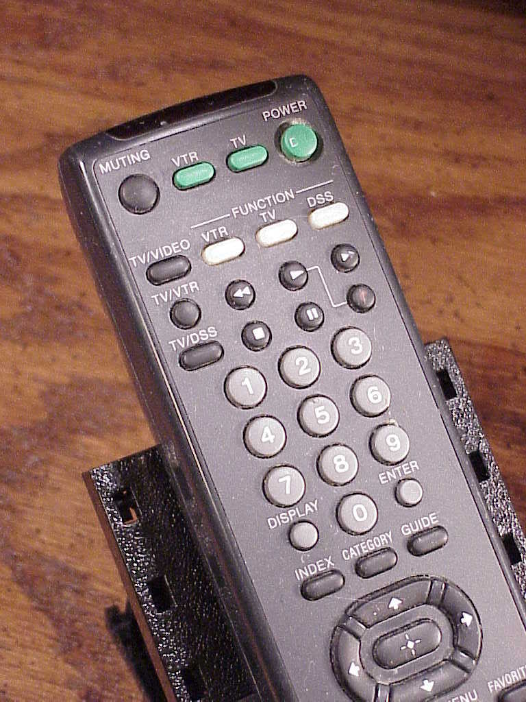Sony Satellite Receiver Remote Control no. RM-Y139, used, cleaned and tested