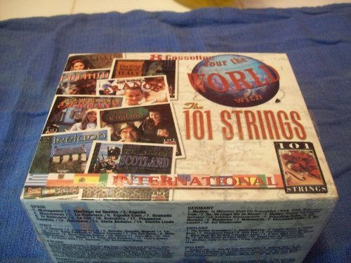 Tour the World with 101 Strings - 8 Cassettes [Audio Cassette]