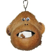 A&E Cage Assorted Happy Beaks Coco Monkey Bird Toy 6x6x6 In 644472011364 - £22.07 GBP