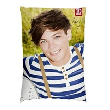"One Direction - 1D Louis Tomlinson Autograph Signature  Pillow Case 30""x... - $19.00"