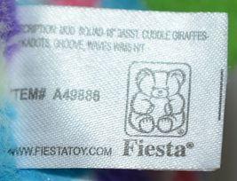 Fiesta A49886 Mod Squad 18 inch Multi Colored Polka Dots Cuddle Giraffe image 4