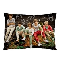 "NEW 1D - ONE DIRECTION Poster Autograph Signature  Pillow Case 30""X20""  - $19.00"