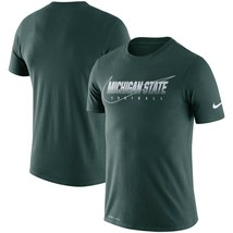 Michigan State Spartans Mens Nike Dri-Fit Cotton Facility T-Shirt - XXL/... - $24.99