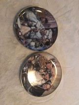 2 The Three Stooges Franklin Mint Plates 1993 And 1994 Numbered - $12.86