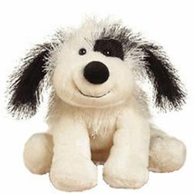 Cheeky Dog Webkinz Black & White Beanbag Plush Stuffed Dog No Code HM192 - $9.89