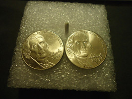 2019-D & 2019-P JEFFERSON NICKEL LOT OF TWO COINS - $0.98