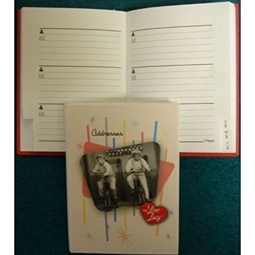 """67000-83 Mead I Love Lucy Address Book. Page Size 2 3/4"""" x 3 7/8"""""""