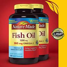 Nature Made Expect More Fish Oil 1200 mg, 400 Softgels - $34.06
