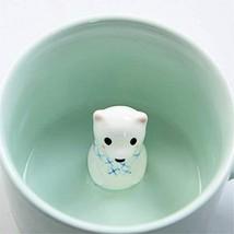 Bear 3D Cute Morning Mug Animal Cup, Best Office Cup 8 Ounce 3D Bear Cup - $10.25
