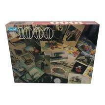 Hasbro Parker Brothers Guild 1000 Piece Jigsaw Puzzle Memorabilia Sealed - $19.99