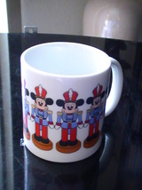 Disney Mickey Mouse Marching Soldier Coffee Cup  - $14.00