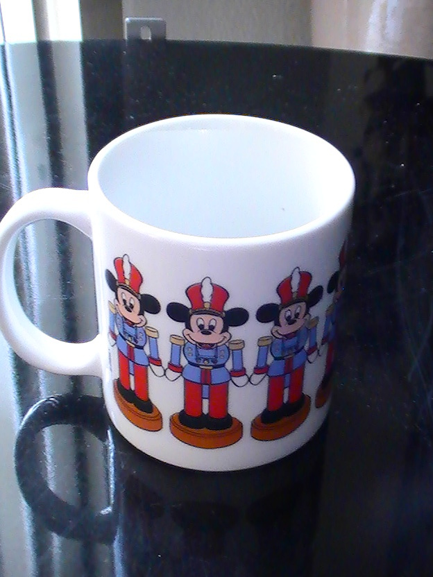 Disney Mickey Mouse Marching Soldier Coffee Cup