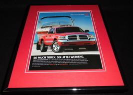 2005 Dodge Dakota Framed 11x14 ORIGINAL Vintage Advertisement - $32.36