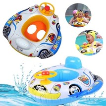 Baby Inflatable Pool Ring Swimming Seat Float Child Swim Boat Water Spor... - $15.62