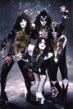 "KISS Band ""Sparkle Background"" Stand-Up Display - Rock Concert Collectibles - $16.99"