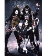 """KISS Band """"Sparkle Background"""" Stand-Up Display - Rock Concert Collectibles - $16.99"""