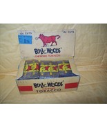 bull of the woods rare vintage original box of 15 10 cent plugs chewing tobacco  - £36.91 GBP