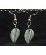 Natural Leaf Earrings - $10.00