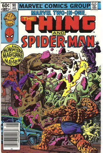 Marvel Two-In-One #90 (Eyes of the Sorcerer) [Comic] by Marvel Comics