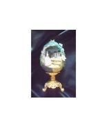 FRANKLIN MINT GONE WITH THE WIND SCARLET OF TARA EGG ON GOLDEN BASE - $57.99