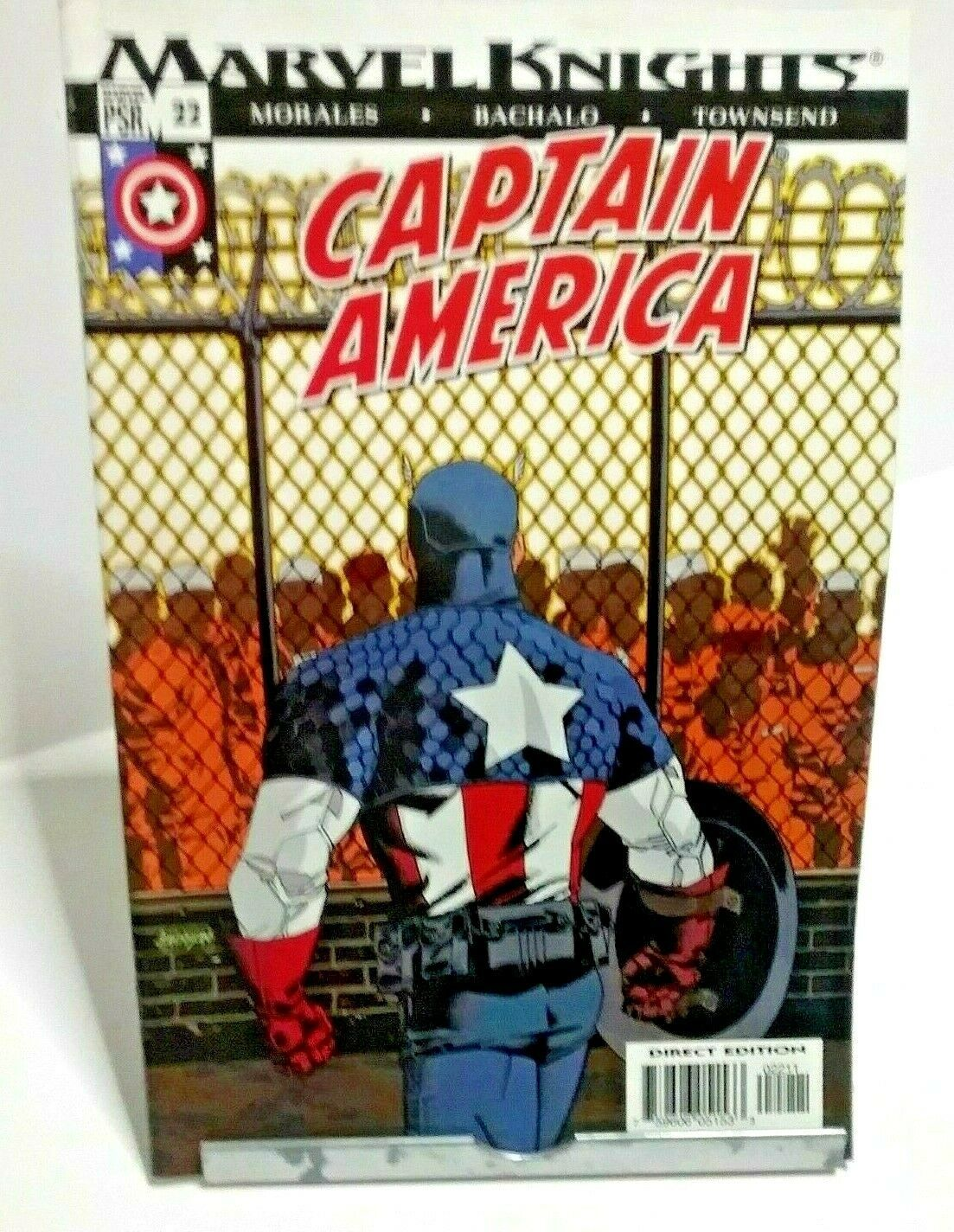 Captain America Marvel Knights Comics Issue 22 March 2004