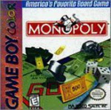 Monopoly [Game Boy Color] Works on GameBoy Color or GameBoy Advance - $29.99