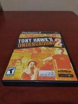 Tony Hawk's Underground and Underground 2 combo! (Sony PlayStation 2) fa... - $24.18