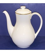 EXQUISITE ROYAL DOULTON ENGLISH FINE BONE CHINA ALICE H5122 COFFEEPOT & LID - $92.56