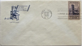 September 25, 1939 First Day of Issue Cover, Printing 300th Anniversary #41 - $2.84