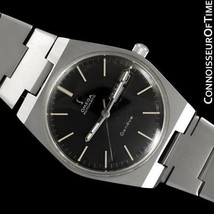 1974 OMEGA GENEVE Vintage Mens SS Steel Watch - Mint with Warranty - $1,171.10