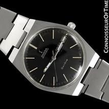 1974 OMEGA GENEVE Vintage Mens SS Steel Watch - Mint with Warranty - $1,171.10
