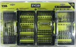 Ryobi  - A981205 -120 Piece Drill and Impact Rated Drive Kit - $42.52