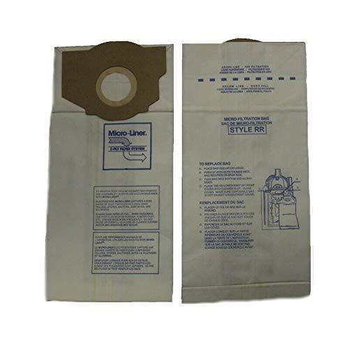 Primary image for DVC Eureka Style RR 61115B Micro Allergen Vacuum Cleaner Bags Made in USA [ 6 Ba