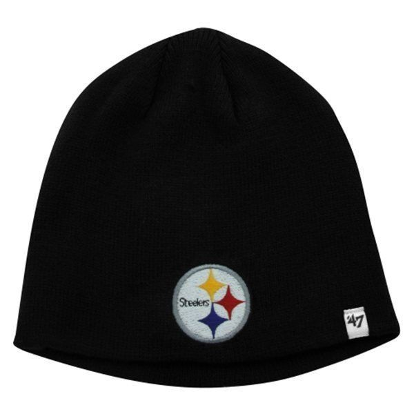 Pittsburgh Steelers Beanie NFL Basic Knit Hat '47 Brand Men's One Size Cap