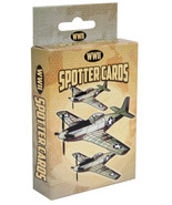 WWII Spotter Plane Playing Cards, Military Aircraft WW2 War Airplane Rep... - $8.99