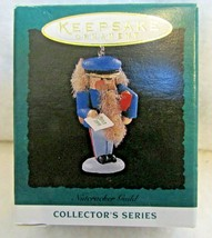 Vintage Hallmark Keepsake miniature ornament Nutcracker Guild QXM4787 - $5.89
