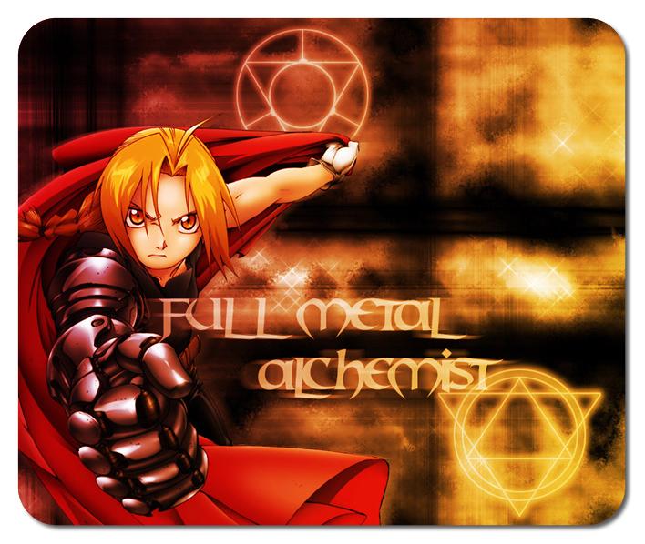 New Fullmetal Alchemist #3 Mousepad Mouse Mats