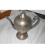 Gotham Silver on Copper 71S Tea Pot Coffee Vintage Large detailed Heavy ... - $29.99
