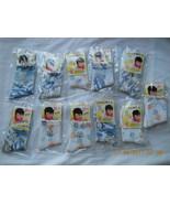 Lot of 11 Ladies Socks Polar bear blue orange R... - $9.99