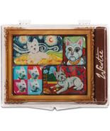 Westie Magnet Set West Highland White Terrier Paw Palettes Magnets 6 Pie... - $13.85