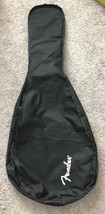 Fender Black Soft Side Padded Guitar Case With Strap - $29.69