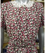 Career NWOT Leslie Faye 10 Secretary Dress Red/... - $48.51