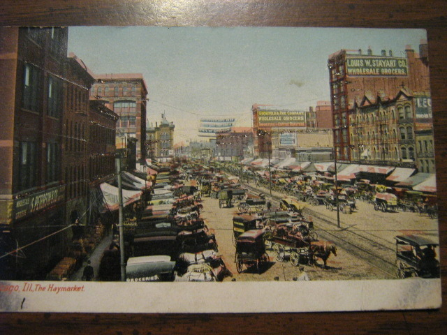 Primary image for 1906 Chicago, Illinois Postcard - The Haymarket