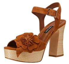 Nine West Womens Winflower Leather Open Toe Casual Platform Sandals, 9.5 M US - $79.99+
