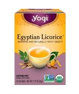 Yogi Tea, Egyptian Licorice, Caffeine Free, 16 Tea Bags, 1.27 oz (36 g) - $4.00