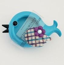 Blue Bird Scentportable Bath Body Works Unit Only No Disc Car Visor Clip... - $12.95