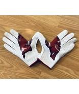 NEW Nike Vapor Knit 2 PE NCAA Gloves Arkansas Razorbacks PGF495-104 Size... - $59.39