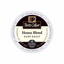 Peet's Coffee House Blend Coffee, 88 count K cups, FREE SHIPPING ! - $68.99
